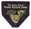 Belize Zoo Cloth Patch