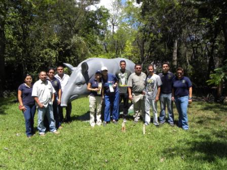 Belize Zoo and BioUniverZoo officials in Chetumal