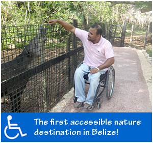 Belize Zoo is Handicap Accessible